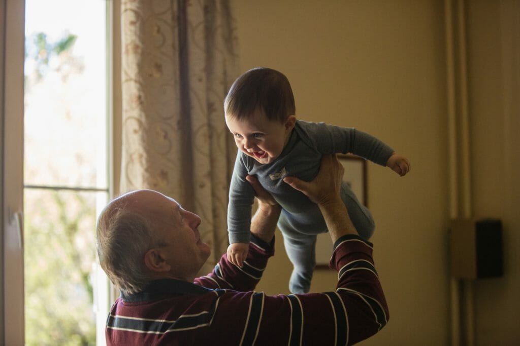 Little known benefit available for Grandparents who help with Childcare whilst save families £22bn a year.